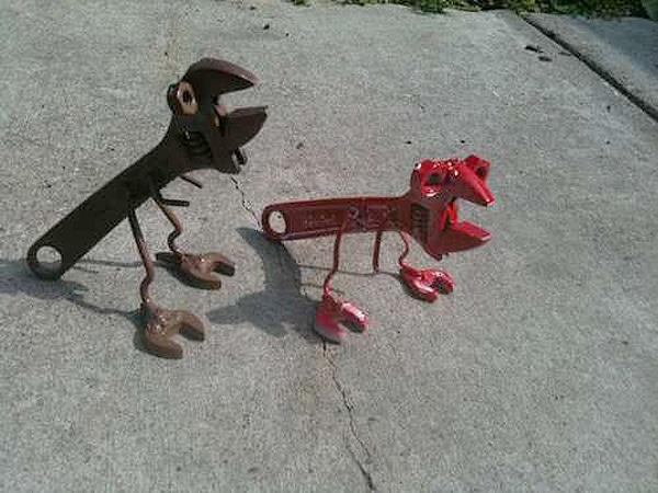 How To Make Tyrannosaurus Wrench