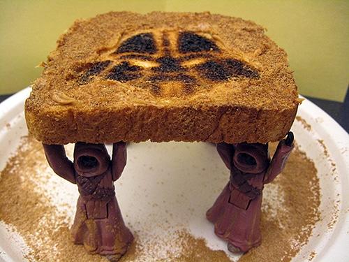Star Wars Toaster Toast