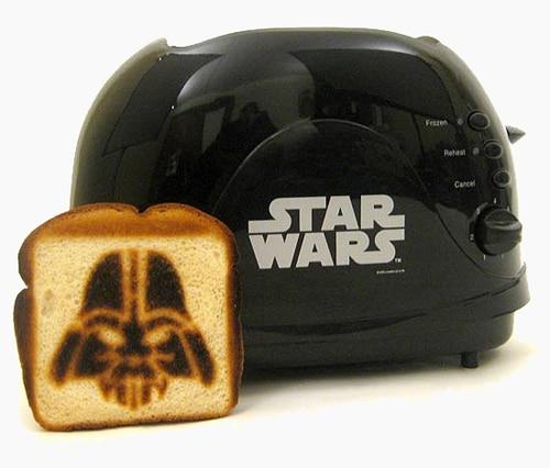 Star Wars Toaster Food