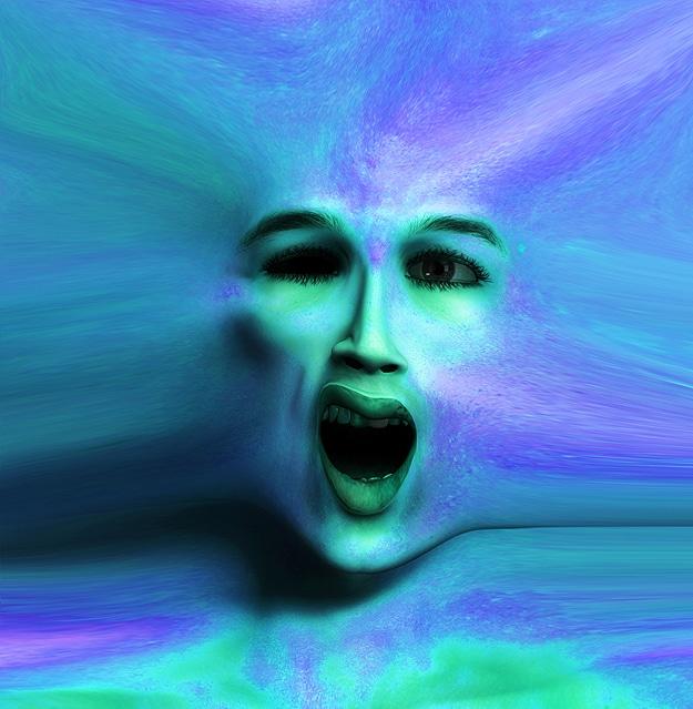 Optical Illusion Deformed Faces