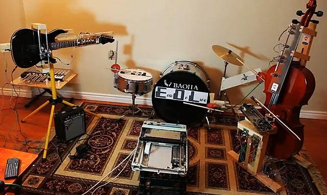 EOL Robot Band Amateur Creation