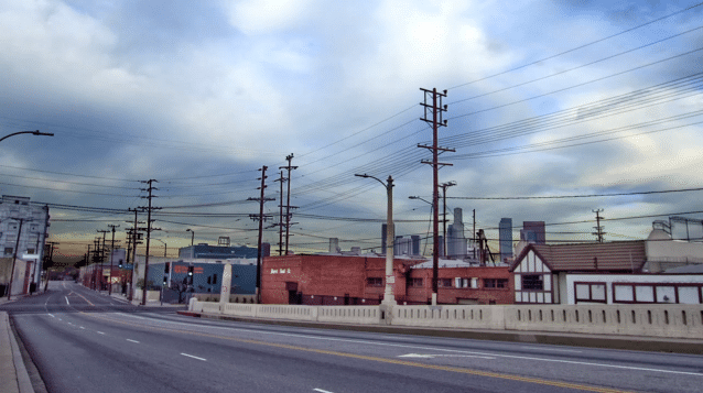 Empty Los Angeles Streets Video