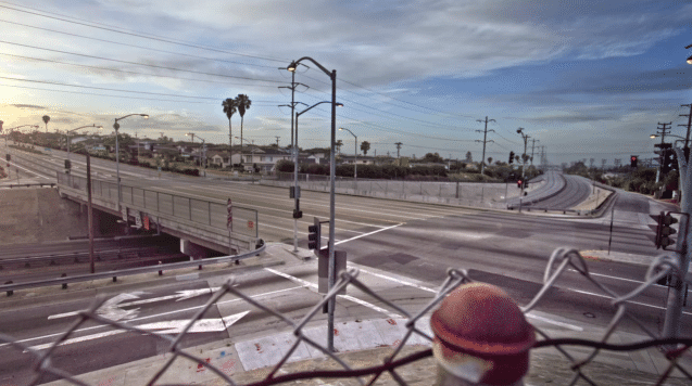 Empty Los Angeles Streets Video