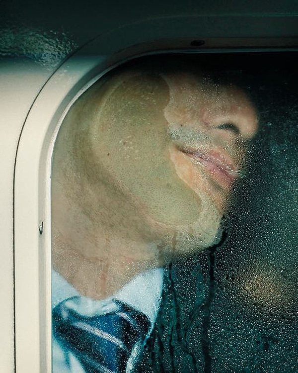 Photography: Squished Up Faces On The Tokyo Train