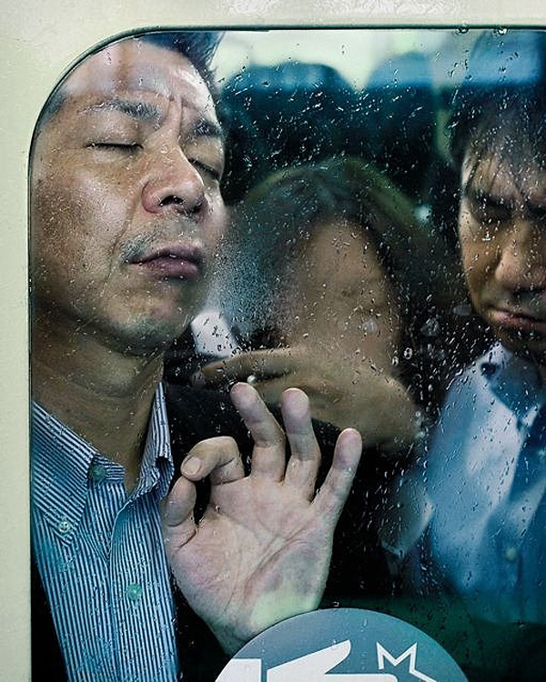 Tokyo Rush Hour Smashed Faces