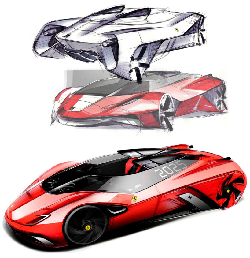Ferrari Of Tomorrow Concept Idea