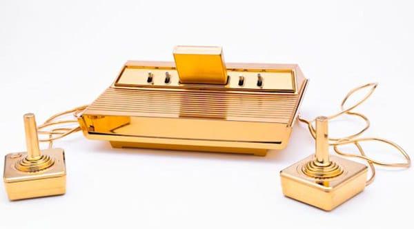 Gold Plated Atari 2600 Console