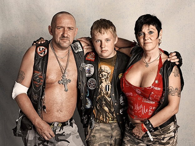Human Photography: Harley Davidson Fans In Raw Form