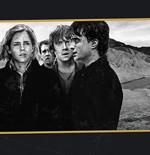 Design: Harry Potter Characters On Classic Album Covers