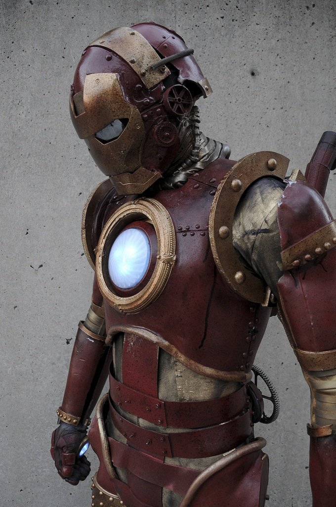 Iron Man Steampunk Costume Build