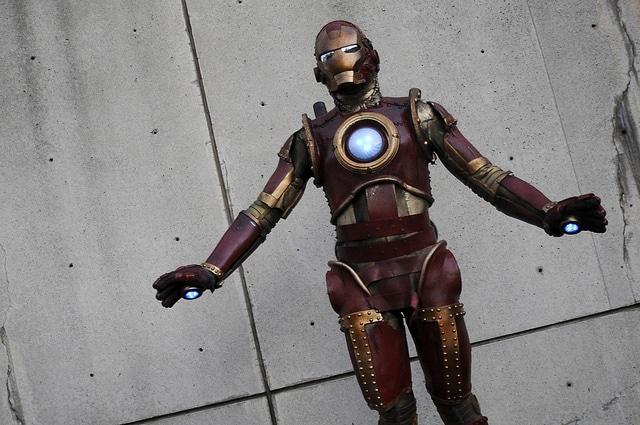 Iron Man Steampunk Costume Build