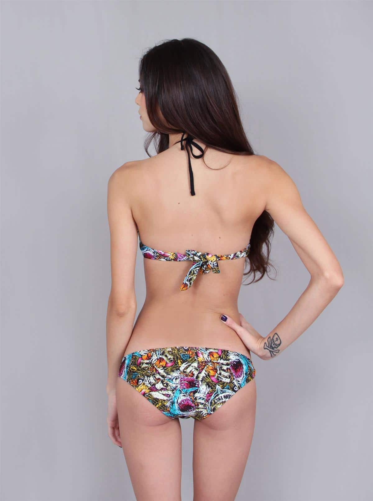 Ladies Beach Zombie Bikini Fashion