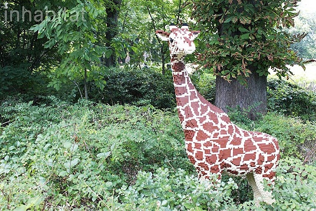 Wildlife Made From Lego