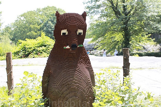 Wildlife Made With Lego