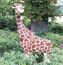 The Lego Zoo: Life-Size Animals All Made From Lego