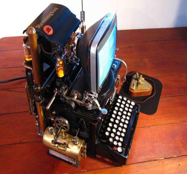 Mac Steampunk Custom Build Design