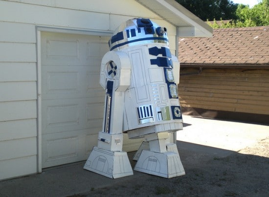 Massive Star Wars R2D2 Build
