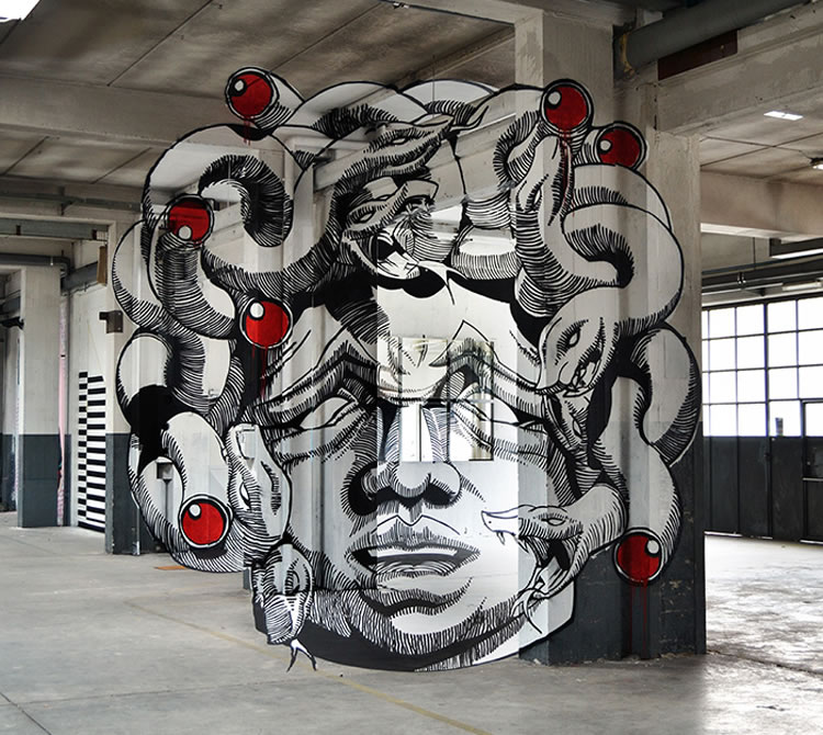 Anamorphic Street Art That Will Mess With Your Head