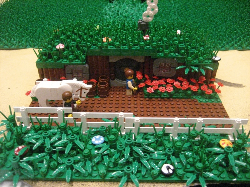 LOTR Middle Earth: Entirely Created Out Of Lego