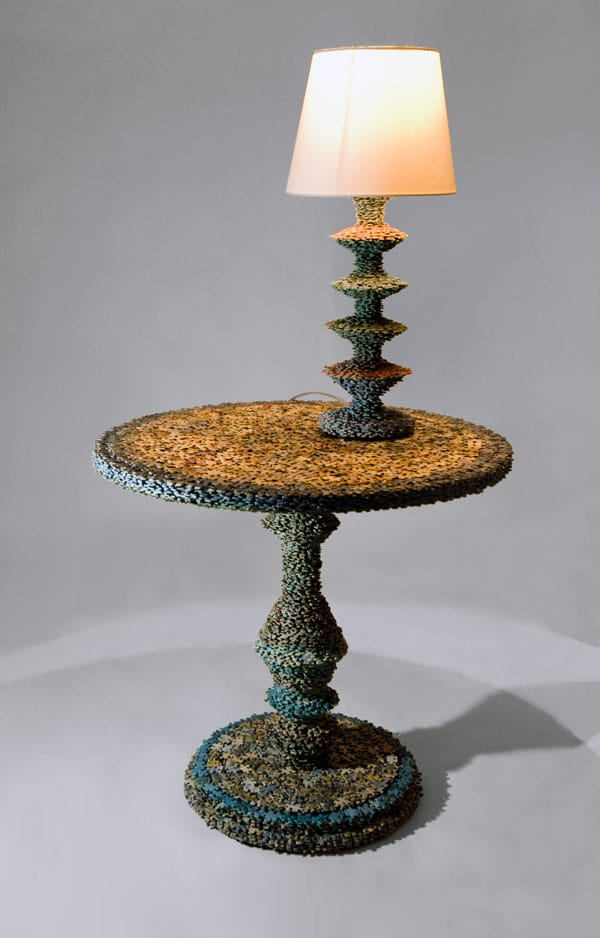 Missing Pieces Puzzle Table Lamp