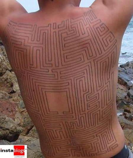 Pac Man Retro Tattoo Designs
