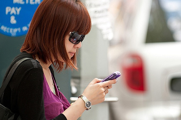 Photography: Random People Texting On The Streets
