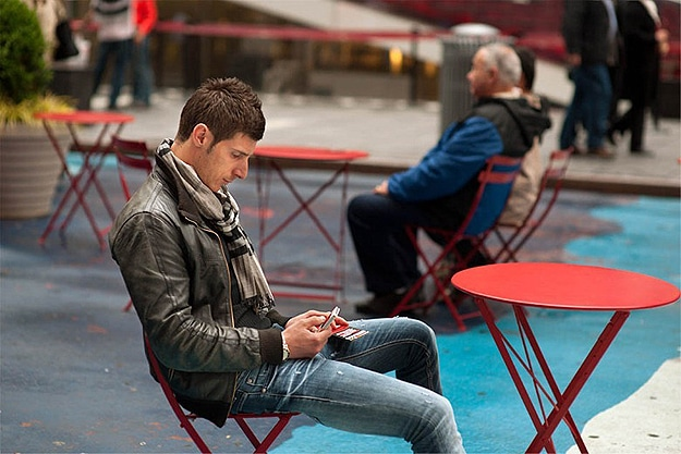 Tweeting and Texting On Phone