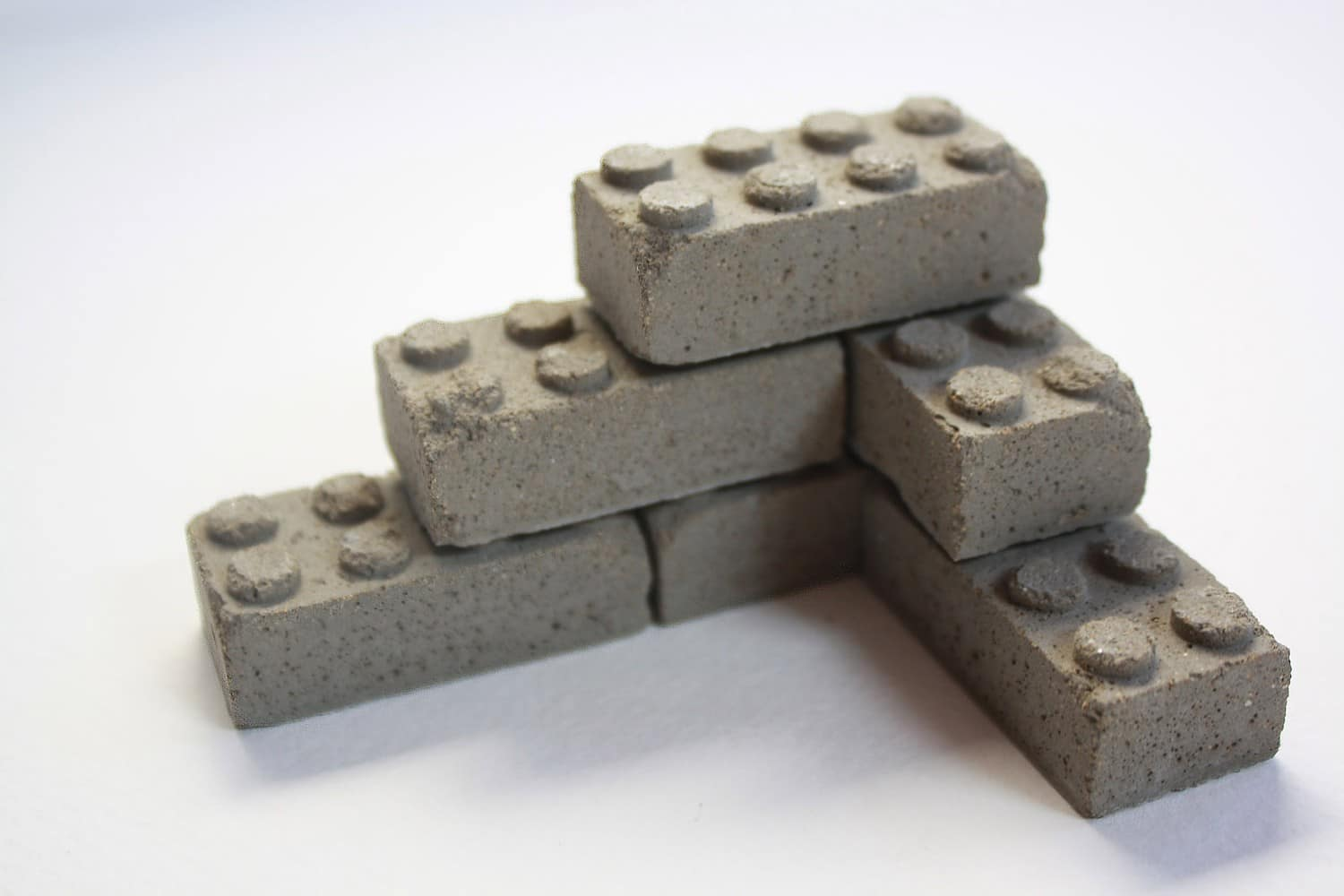 Real Concrete Lego Blocks Make Your Builds Realistic | Bit ...