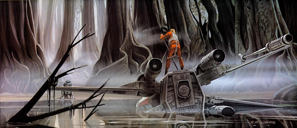 Retro Star Wars Fan Illustrations