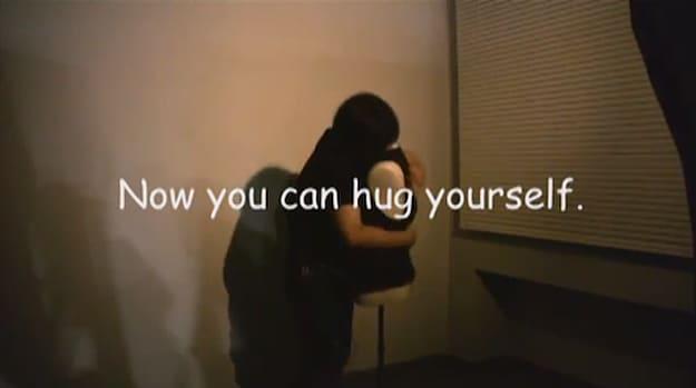 Interactive Robot Torso: Now You Can Hug Yourself