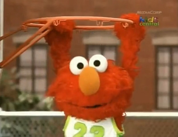Grover Doing Beastie Boys Rap