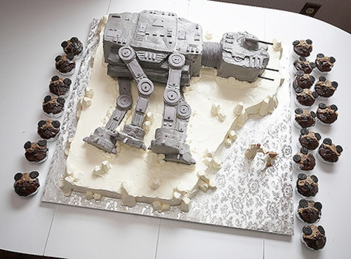 AT-T Sheet Cake With Figures