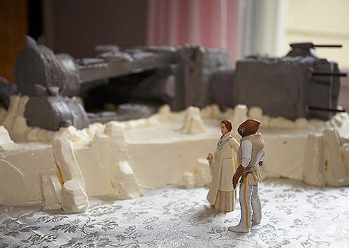 AT-T Princess Leia and Han