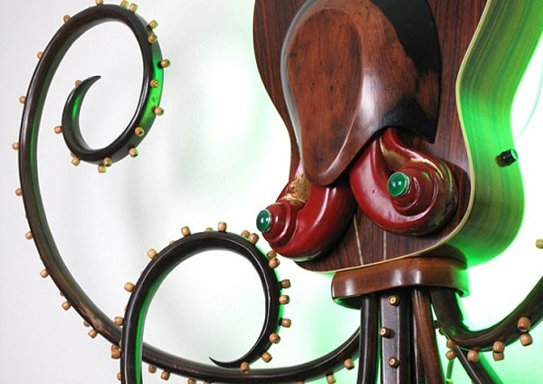 Recycled Monster Steampunk Art