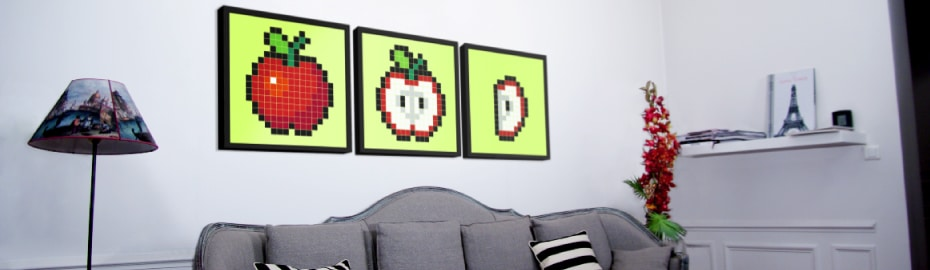 Stickaz Pixel Art Custom Stickers