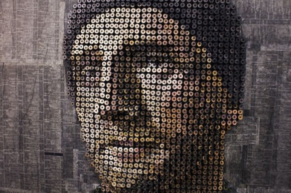 Stunning Screw Portrait Artwork Design