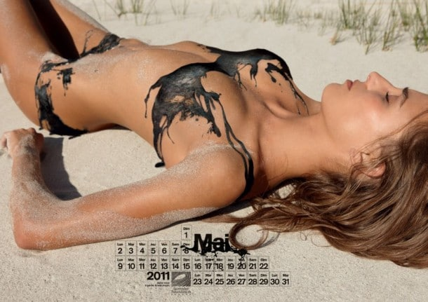 Surfrider Foundation Yearly Pin-up Calendar