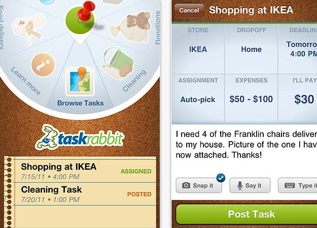 TaskRabbit: The iPhone App That Runs Errands For You