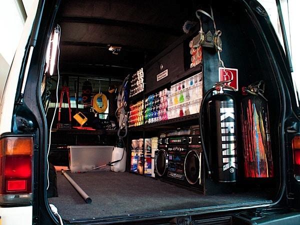 The Ultimate Graffiti Van Mobile