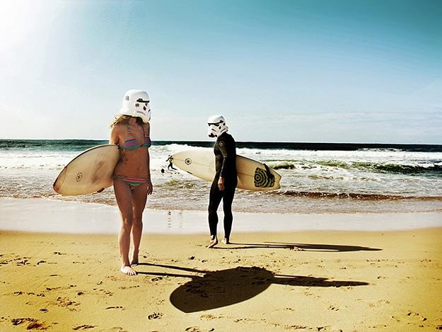 Surfing Trooper Travel Photos