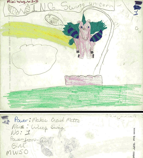 Child's Special Unicorn Drawings
