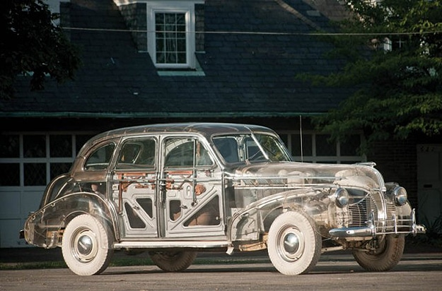 1939 Pontiac See Through Car