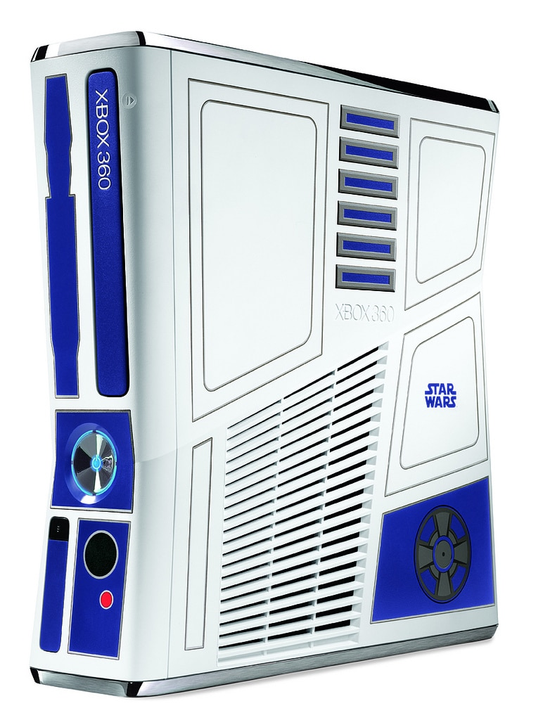 Microsoft Releases Star Wars Themed XBox 360 Console