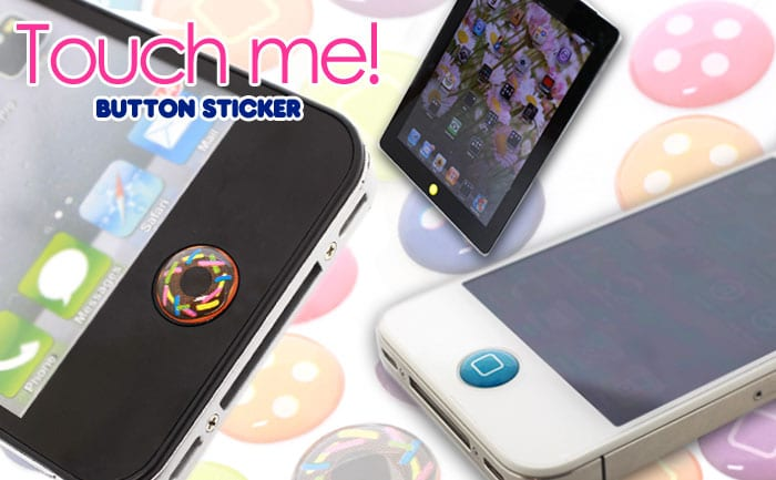 iPhone Trippy Home Button Stickers