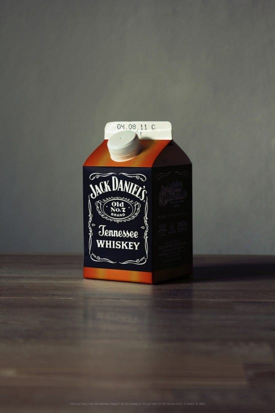 Odd Packaging: Alcohol Milk Cartons