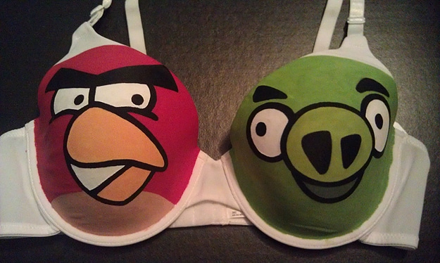 The Angry Boobs Bra: For Ultimate Angry Birds Fans