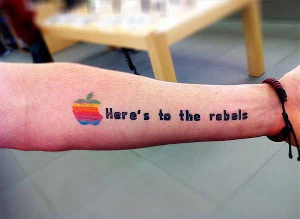 Fun Corporate Logo Tattoos