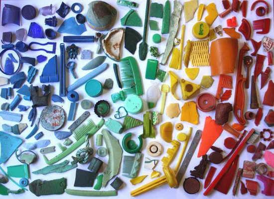 Color Wheels On Beach