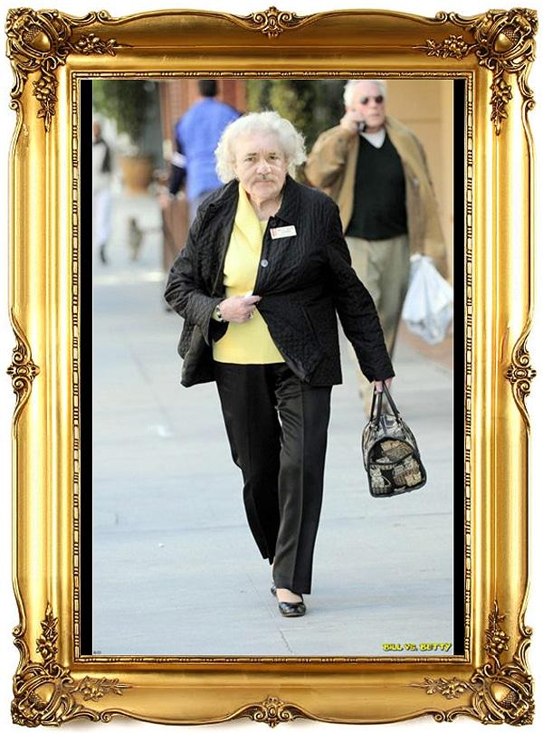 Betty White Bill Murray Face