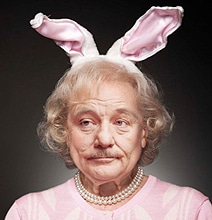 Betty White With Bill Murray's Face: A Disturbingly Funny Mashup